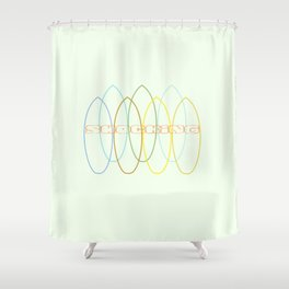 Shocking Shower Curtain