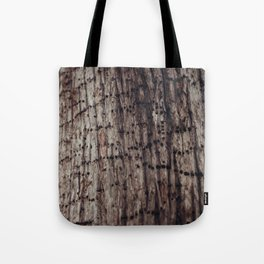 The Work of A Woodpecker Tote Bag