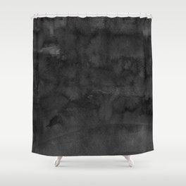 Black Ink Art No 4 Shower Curtain