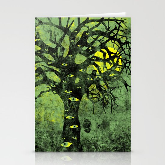 the Vision Tree (green) Stationery Cards