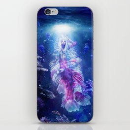 The Mermaid's Encounter iPhone Skin