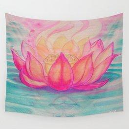 Lotus Wall Tapestry