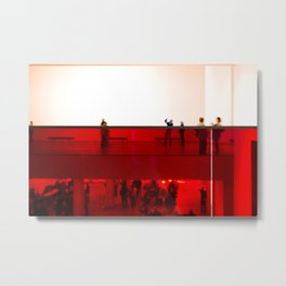 Day at the museum Metal Print