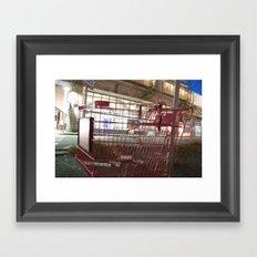 Going my way Framed Art Print