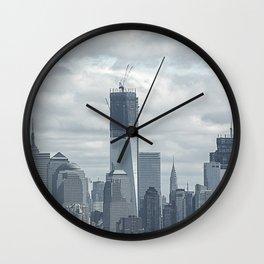 NYC Skyline 2012 Wall Clock