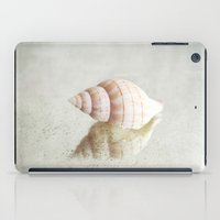 seashell iPad Cases featuring seashell  by Sylvia Cook Photography