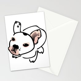 French Bulldog Pup Drawing Stationery Cards