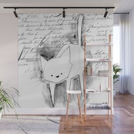 minima - deco cat Wall Mural