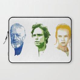 Ben, Luke and Rey Laptop Sleeve