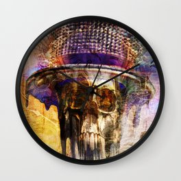 Melting Mad Hatter Wall Clock