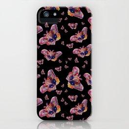 Glowy Moth iPhone Case