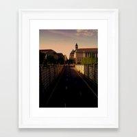 washington dc Framed Art Prints featuring Washington DC by adamsk8