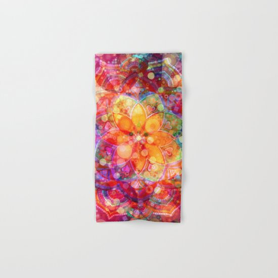 Dreaming Lotus Hand & Bath Towel