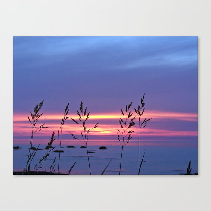 Simplicity by the Sea Canvas Print