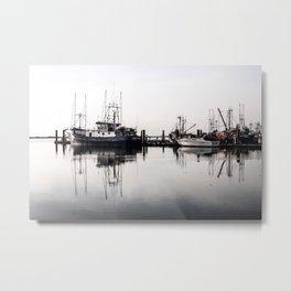 Steveston Marina Metal Print