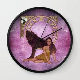 Tera West Wall Clock
