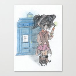 Doctor Sketches Canvas Print