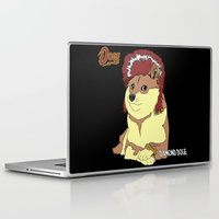 doge Laptop & iPad Skins featuring Diamond Doge (sans Comic Sans) by merimeaux