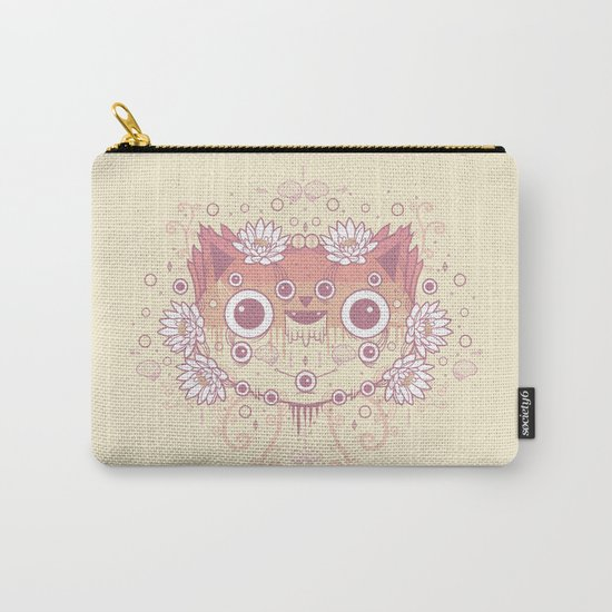 Cat flowers Carry-All Pouch
