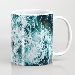 In The Midst of the Raging Sea Coffee Mug