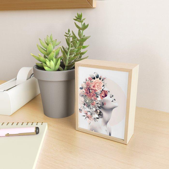 Bloom 7 Framed Mini Art Print