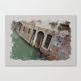 THIS MUST BE THE PLACE: VENICE Canvas Print