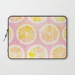 Orange Slices Pastel Fruit Laptop Sleeve
