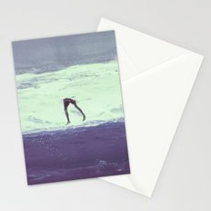 IT'S ALWAYS BETTER UNDER WATER Stationery Cards