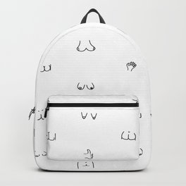 butts and boobies Backpack