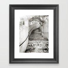 Ceramic Stairway Framed Art Print