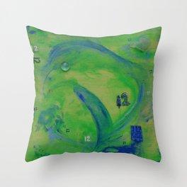 SeaHawks-12 Throw Pillow