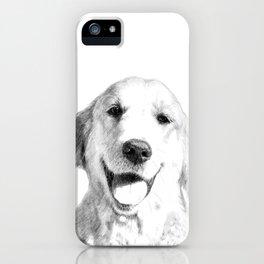 Amber // Golden Retriever iPhone Case