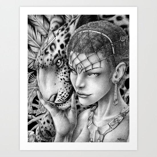 Saadi Art Print