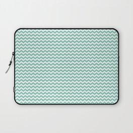 Chevron Mint Laptop Sleeve