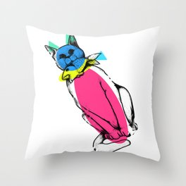 Shapes and Childhood Throw Pillow