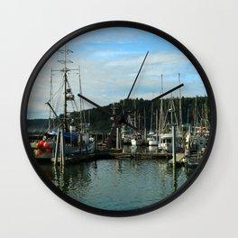 La Push Marina Wall Clock