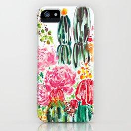 Paige's Garden iPhone Case