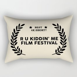 Film Festival Winner : Best 4K Short Rectangular Pillow