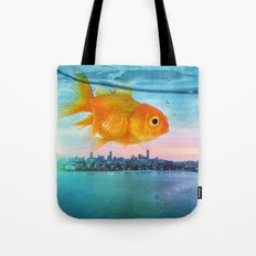 Tank with a view Tote Bag
