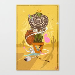 DESERT VISIONS Canvas Print