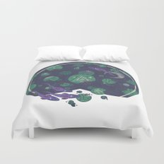 Amongst the Lilypads Duvet Cover