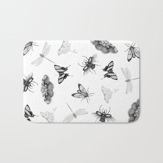 Entomologist Dreams Bath Mat