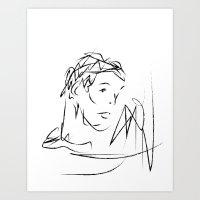Untitled Crayon 01 Art Print