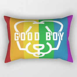 Good Boy - Pride Rectangular Pillow