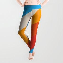 Gefjun - Classic Minimal Retro Summer Style Stripes Leggings