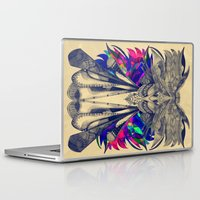 phoenix Laptop & iPad Skins featuring PHOENIX by Galvanise The Dog