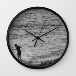 Into The Water Wall Clock