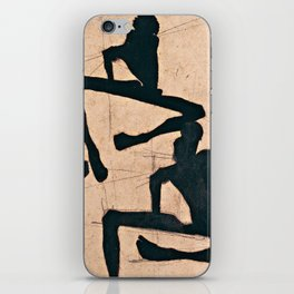 Egon Schiele  -  Composition With Three Male Nudes iPhone Skin