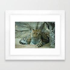 Mom and Baby Framed Art Print