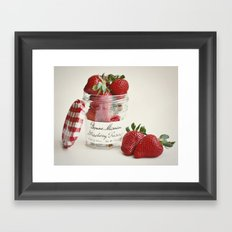 Extra Berry Framed Art Print
